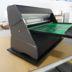 Cold laminator spinner tray for Xyron 2500 lamination