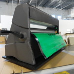 Cold laminator spinner tray for CooLam lamination machines