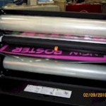 25 cold laminator, no electricity, no heat